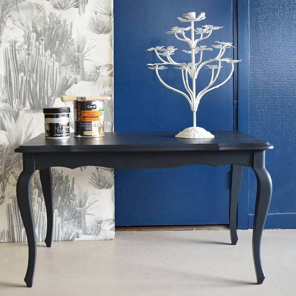 Vernis Ou Vitrificateur Sur Un Meuble Peint relooking tables rennes restauration peinture meuble