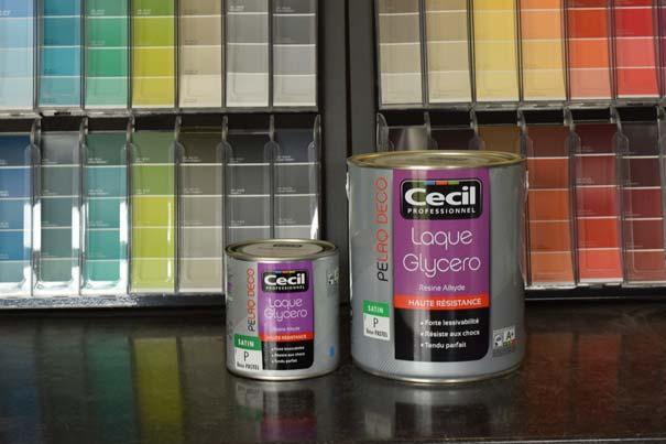 Magasin Vente Peinture Laque Glycero Couleurs Personnalisées