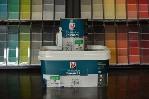 Magasin Vente Peinture Faience Rennes Renovation Relooking Qualite