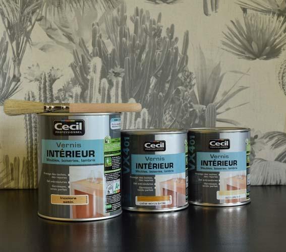 Magasin Vente Vernis Interieur Meubles Rennes Relloking Finition Protection Qualite Professionnel